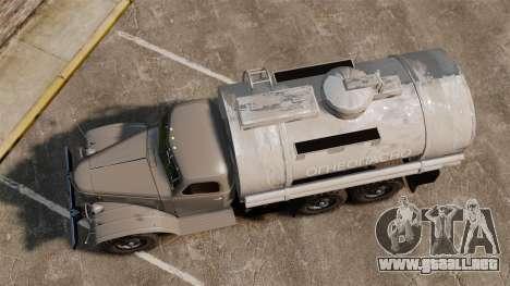 Camión ZIL-157 para GTA 4 visión correcta
