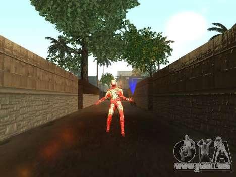 Impacto de iron man en la tierra para GTA San Andreas