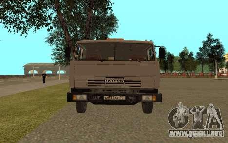 Camiones KAMAZ 53115 para la visión correcta GTA San Andreas