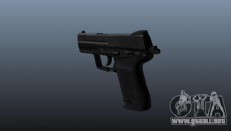Pistola HK45C v1 para GTA 4 segundos de pantalla