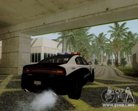 Dodge Charger 2012 Police IVF para GTA San Andreas left