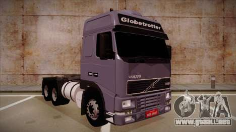 Volvo FH12 Globetrotter para GTA San Andreas left