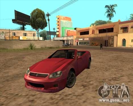 Feltzer Benefactor de GTA 4 para GTA San Andreas