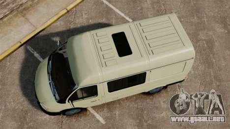 Sobol GAZ-2752 v1.1 para GTA 4 visión correcta