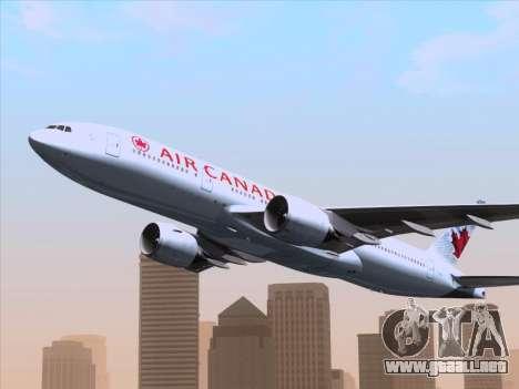 Boeing 777-200ER Air Canada para el motor de GTA San Andreas