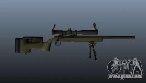 Rifle de francotirador M40A3 para GTA 4 tercera pantalla