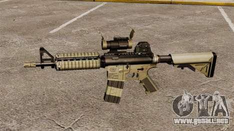 Automático carabina M4 CQBR v1 para GTA 4 tercera pantalla
