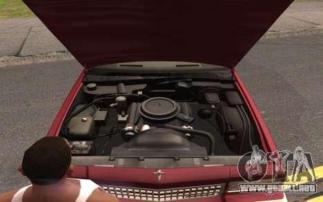 Chevrolet Caprice 1987 para las ruedas de GTA San Andreas