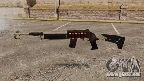 Escopeta M1014 v2 para GTA 4 tercera pantalla