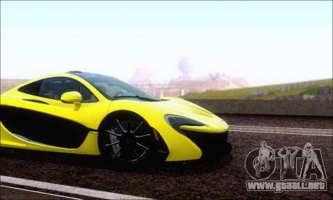 McLaren P1 EPM para GTA San Andreas left