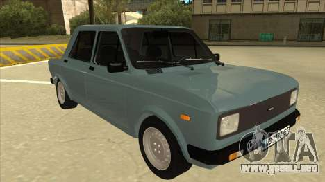 Zastava 128 Stock para GTA San Andreas left