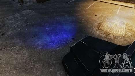 Faros azules para GTA 4 segundos de pantalla