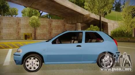 FIAT Palio EX 2003 para GTA San Andreas vista posterior izquierda
