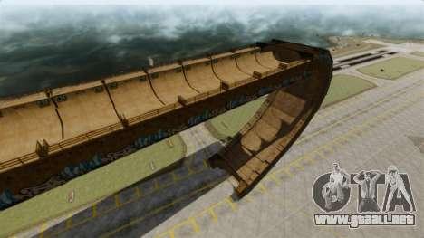 Pista de rampa para GTA 4 tercera pantalla