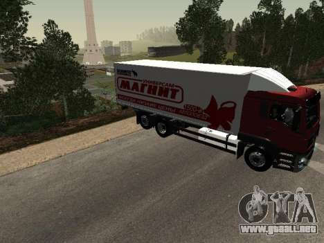 MAN TGA 26350 imán para la visión correcta GTA San Andreas