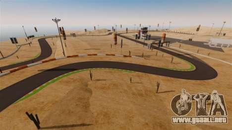 Ubicación DesertDrift ProStreetStyle para GTA 4 octavo de pantalla