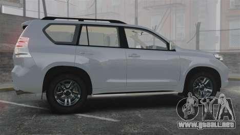 Toyota Land Cruiser Prado 150 para GTA 4 left