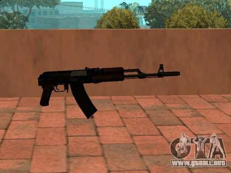 Culata de AK-74 para GTA San Andreas