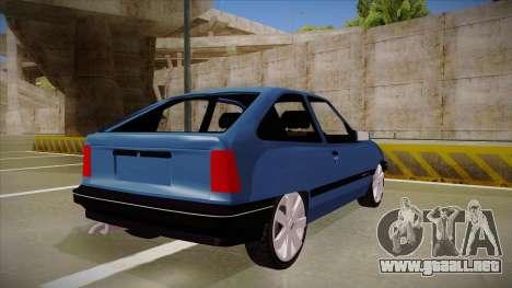 Chevrolet Kadett para la visión correcta GTA San Andreas