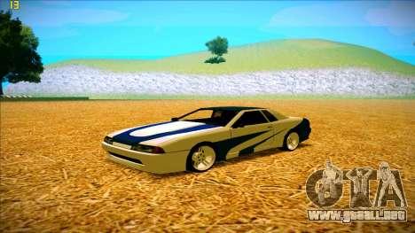 Paintjobs EQG Version for Elegy para GTA San Andreas segunda pantalla