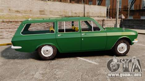 Volga GAZ-24-02 para GTA 4 left