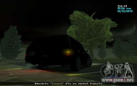 Huntley Mp-bandido para la visión correcta GTA San Andreas