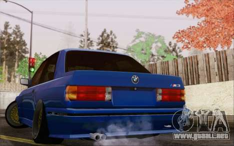 BMW M3 E30 Stance para GTA San Andreas left