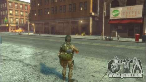 Un soldado ruso v1.0 para GTA 4 segundos de pantalla