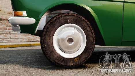Volga GAZ-24-02 para GTA 4 vista hacia atrás