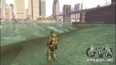Un soldado ruso v4.0 para GTA 4 segundos de pantalla