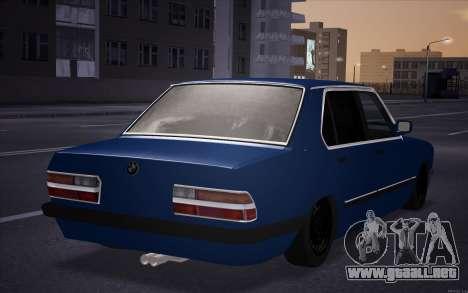 BMW 5-er E28 Hobo para GTA San Andreas left