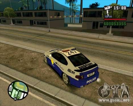 Pontiac GTO Pursit Edition para la visión correcta GTA San Andreas
