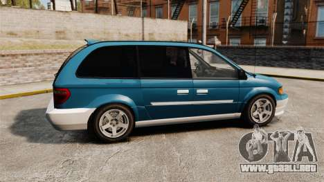 Dodge Grand Caravan 2005 para GTA 4 left