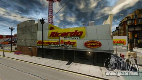 Tiendas brasileñas para GTA 4 segundos de pantalla