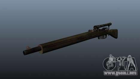 Rifle de francotirador Carcano para GTA 4