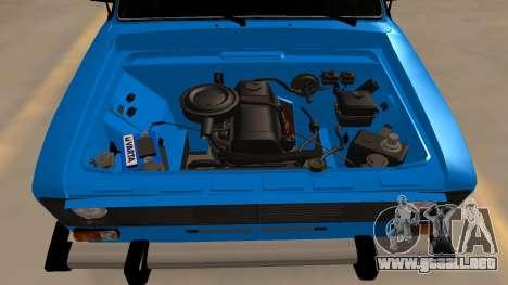 2106 Vaz para visión interna GTA San Andreas