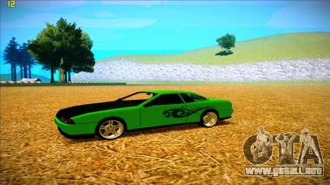 Paintjobs EQG Version for Elegy para GTA San Andreas tercera pantalla