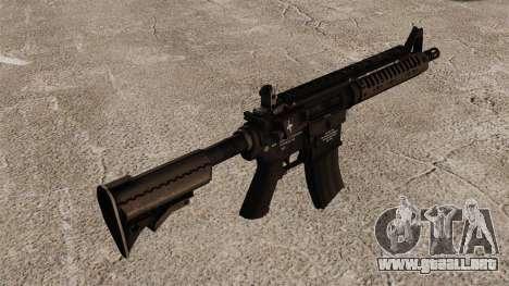 Automático carabina M4 VLTOR v1 para GTA 4 segundos de pantalla