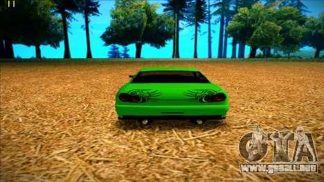 Paintjobs EQG Version for Elegy para GTA San Andreas sucesivamente de pantalla