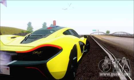McLaren P1 EPM para la vista superior GTA San Andreas