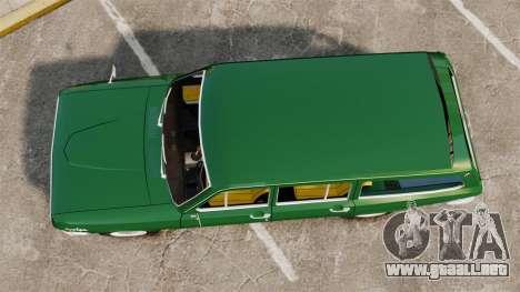 Volga GAZ-24-02 para GTA 4 visión correcta