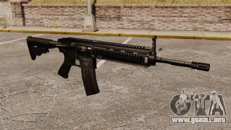 HK416 automático para GTA 4