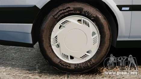 Fiat Tempra SX.A v2.0 para GTA 4 vista hacia atrás
