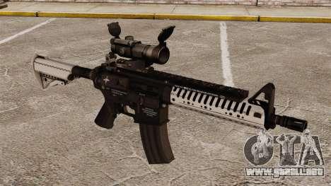 Automático carabina M4 VLTOR v6 para GTA 4