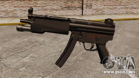 Subfusil HK MP5 para GTA 4 tercera pantalla