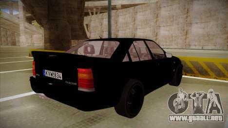 Lotus Carlton para la visión correcta GTA San Andreas