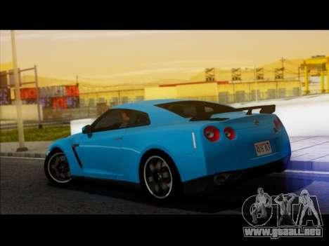 Nissan GT-R Egoist v2 para GTA San Andreas left