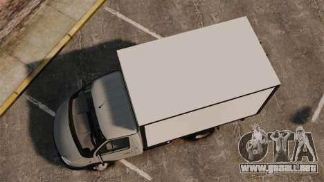 Negocio de gaz-3302 para GTA 4 visión correcta
