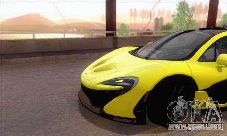 McLaren P1 EPM para vista lateral GTA San Andreas