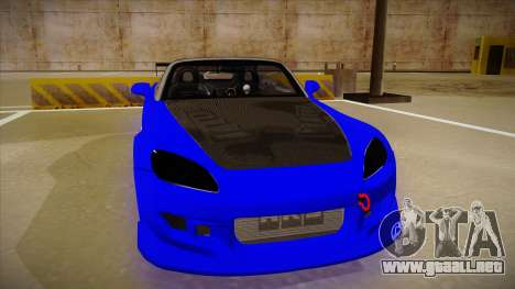 Honda S2000 C-West para GTA San Andreas left